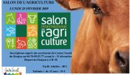 Le Centre Social vous propose une sortie au Salon de l'Agriculture Lundi 25 février 2019 (cliquer sur l'image pour agrandir)